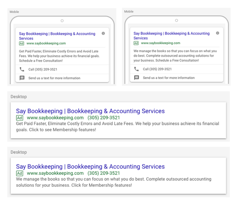 Say Bookkeeping Ads