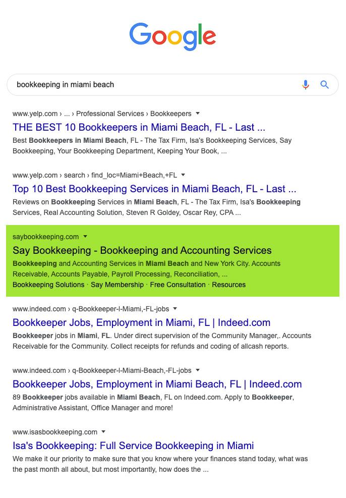 bookkeeping in miami beach